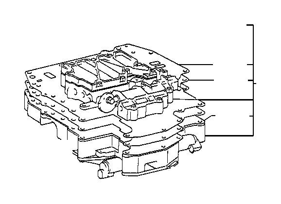 Lexus ES 300 Valve, manual. Atm, transmission, driveline