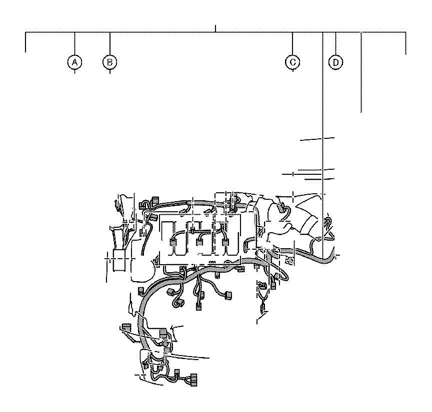 Lexus ES 350 Cover. Relay block, side no. 1; relay block