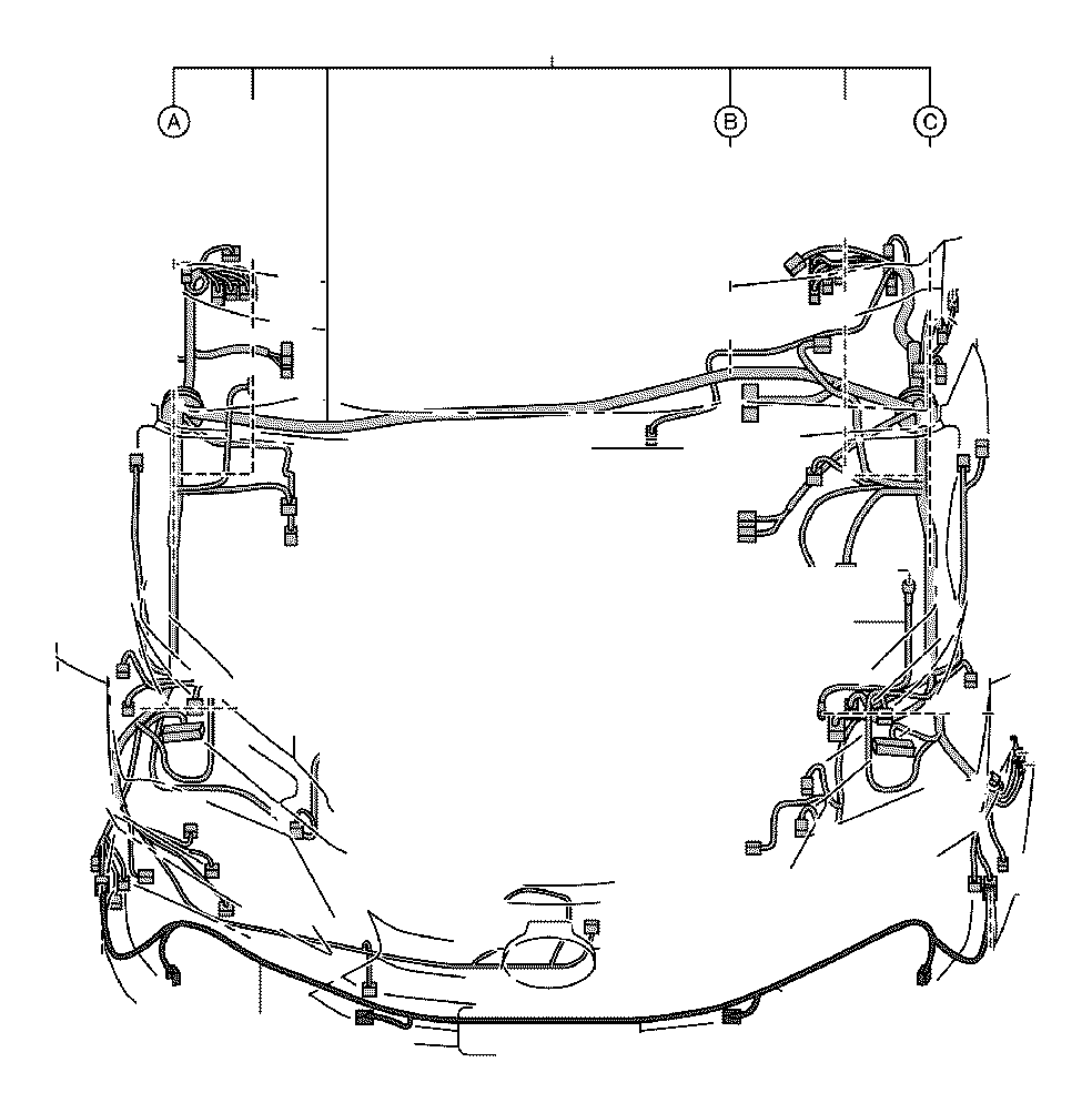 Lexus NX 300h Protector. Wiring harness, no. 1; wiring