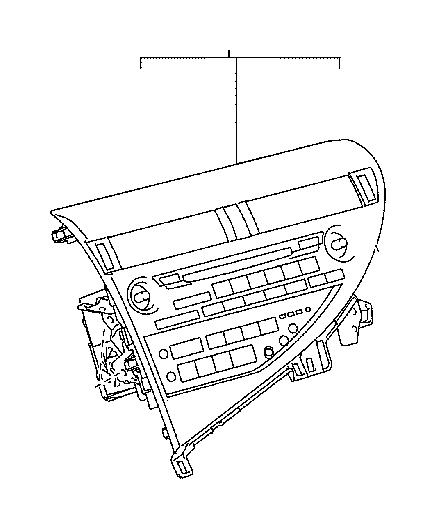 Lexus RX 350 Receiver assembly, radio. Condenser, audio