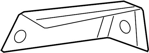 Subaru Legacy Door Mirror Cap (Left, Outer, Grey, Silver