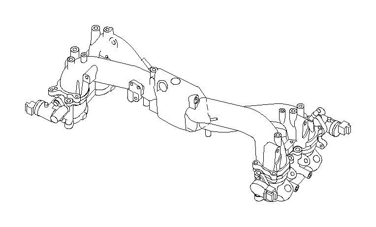 Subaru Impreza Hose Vacuum. HSE Vacuum. Maintenance