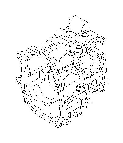 Subaru WRX Case Complete Transfer. EXTENSION, Transmission
