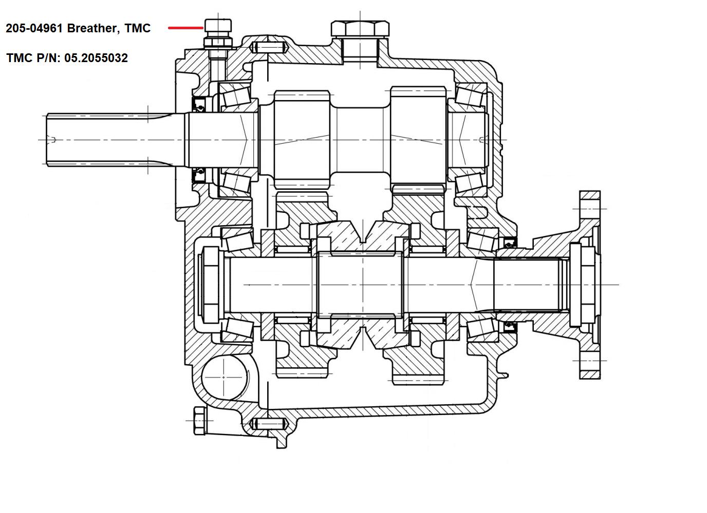 Breather, TMC Transmissions, TMC 40 / TMC 60 / TMC 260
