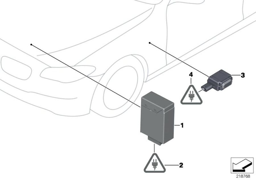 2016 BMW 528i Ultrasonic sensor, Parking Assistant. ALPINA