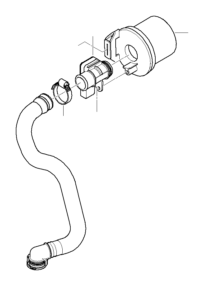 1988 BMW M3 Coupe Manual Hose clamp. Flow, Mass