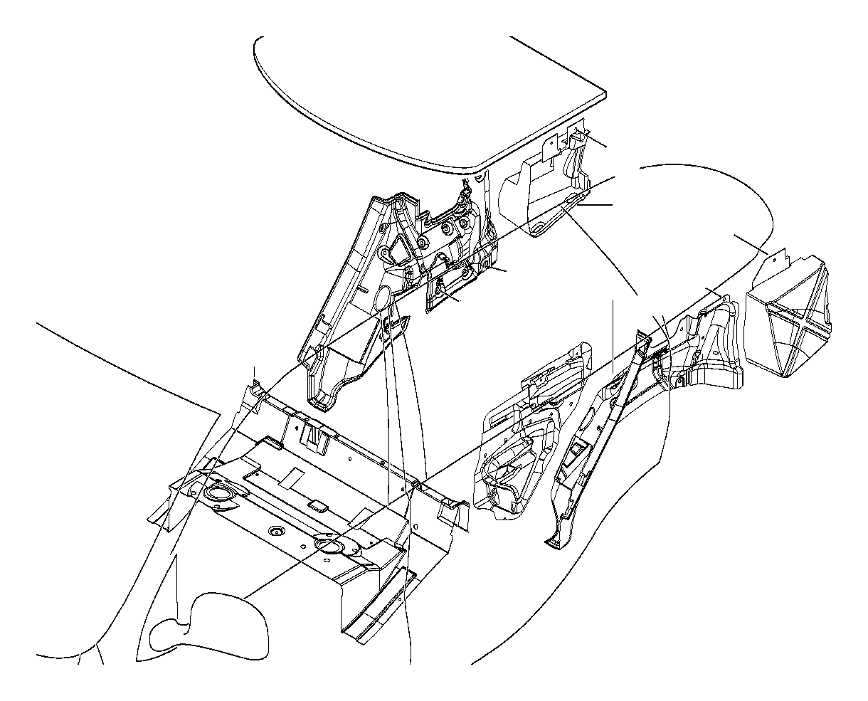 Bmw X5 Sound Insulating Door Rear Left