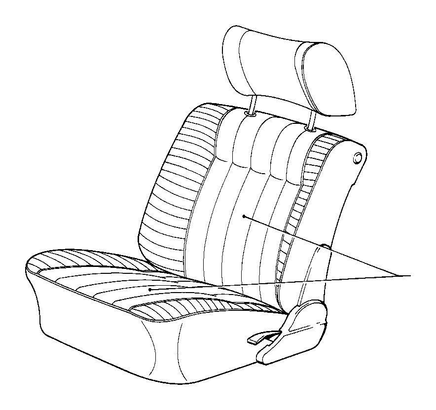 1995 BMW 525i Upholstery leather. SILBERGRAU HELL