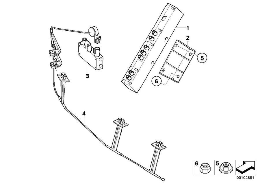 BMW 330Ci Antenna amplifier Diversity. Info, Entertainment