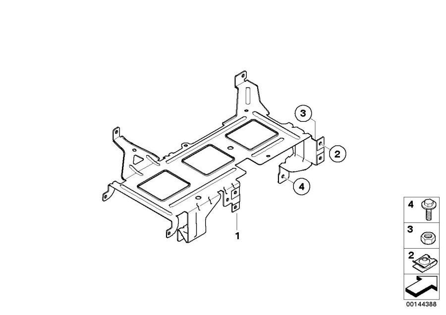 BMW 328i Holder, TV module. System, Video, Navigation
