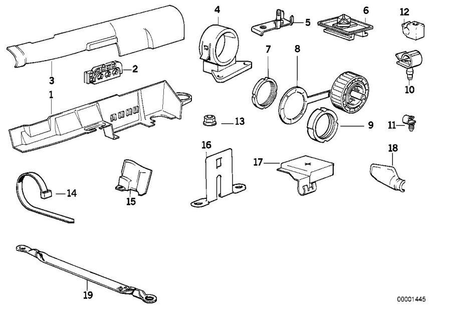 BMW 318i Nut. DIAGNOSE. Harness, System, Wiring