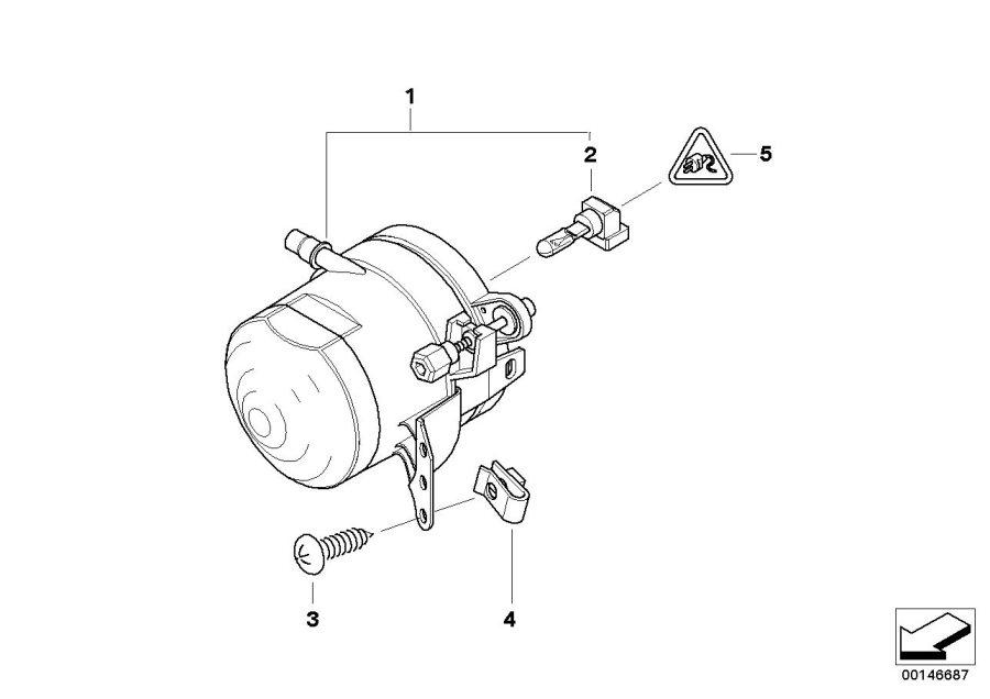 BMW 318ti Flat-spring contact JPT. 1-2, 5 MM². System