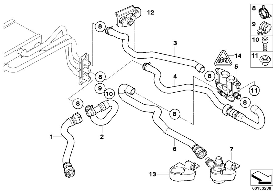 Bmw Diagrams : 2007 Bmw X3 Serpentine Belt Diagram