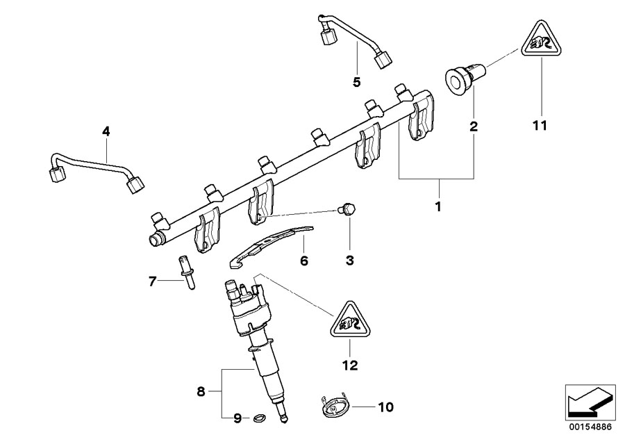 BMW 750Li Decoupling element. ALPINA, System, Fuel