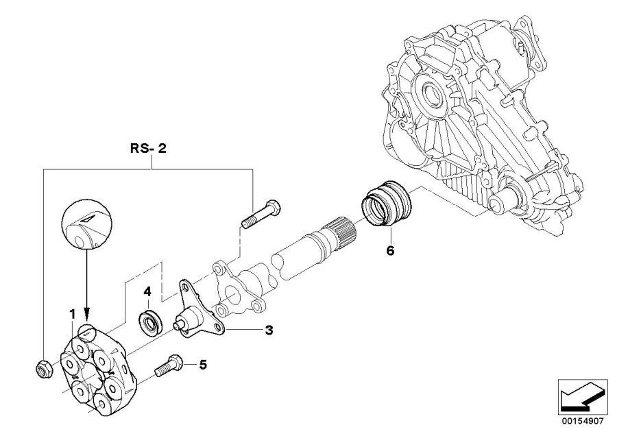 BMW X5 Hex bolt. M10X42-ZNS3. Drive, Shaft, Transmission