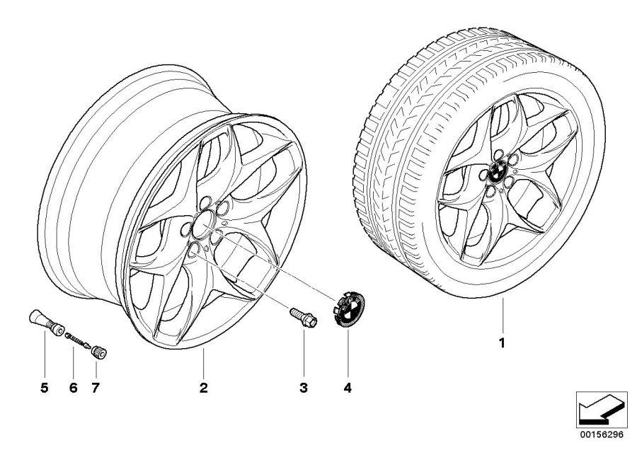 BMW X6 Retrofit kit, wheel arch flaring 21''. Spoke