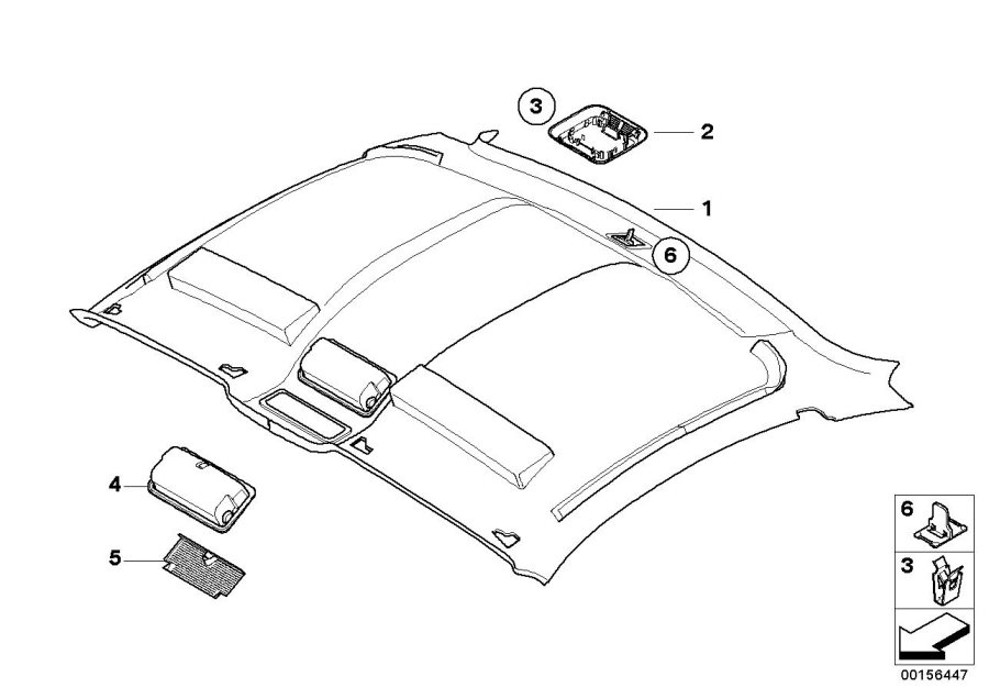 BMW Z4 Tray for glasses. BEIGE. Equipment, Body, Interior