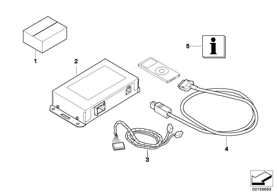 BMW 335iX Diagnosis interface MOST. ALPINA, Kit, Repair