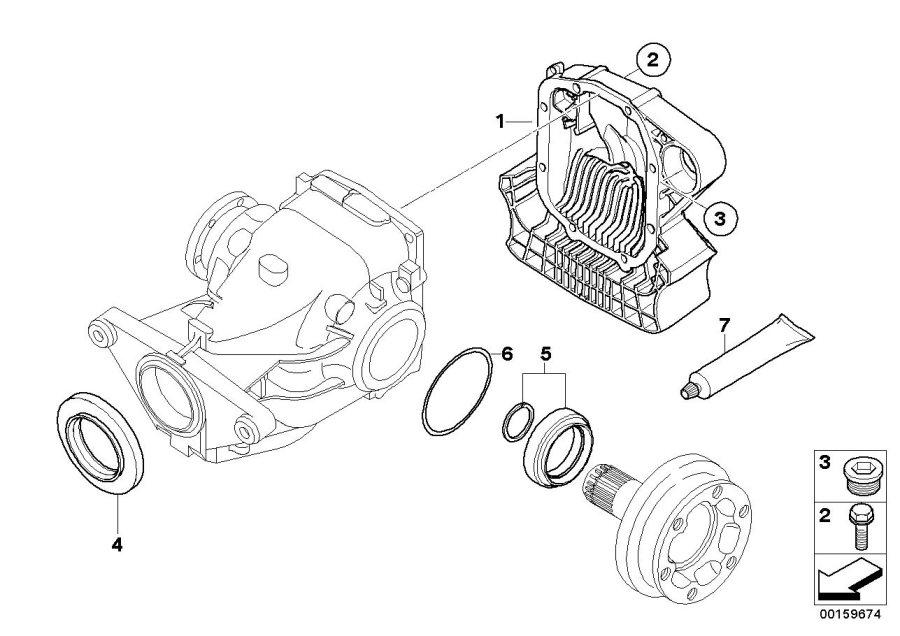 BMW M6 Hex bolt with washer. M10X82-10.9ZNS3. Suspension