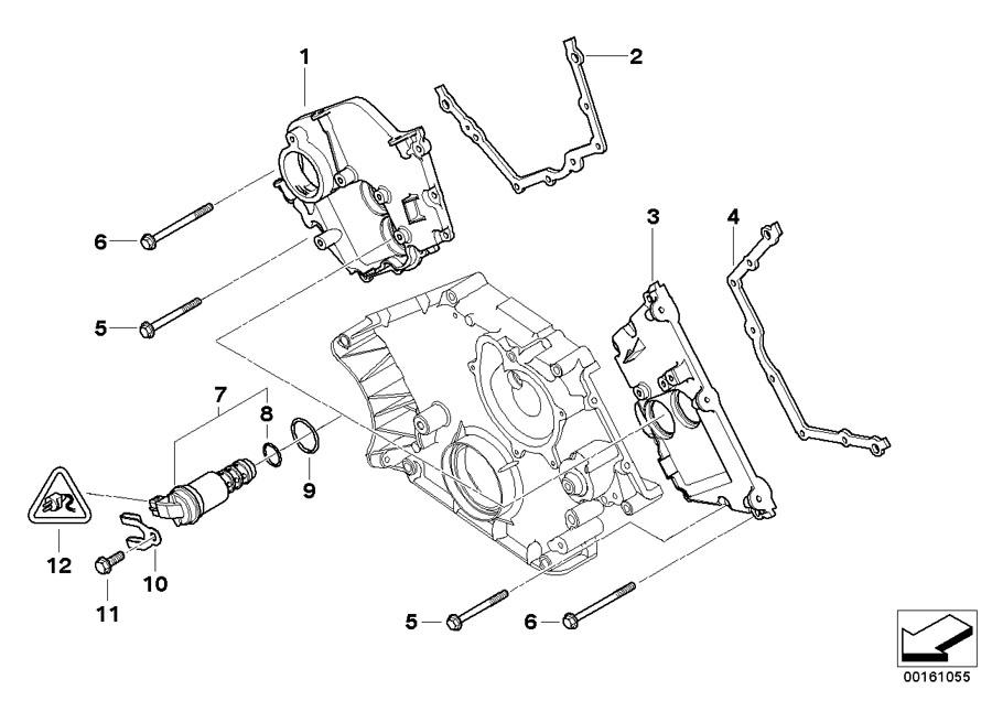 2004 BMW X5 Solenoid valve (SOLV). Engine, Cylinder, Head