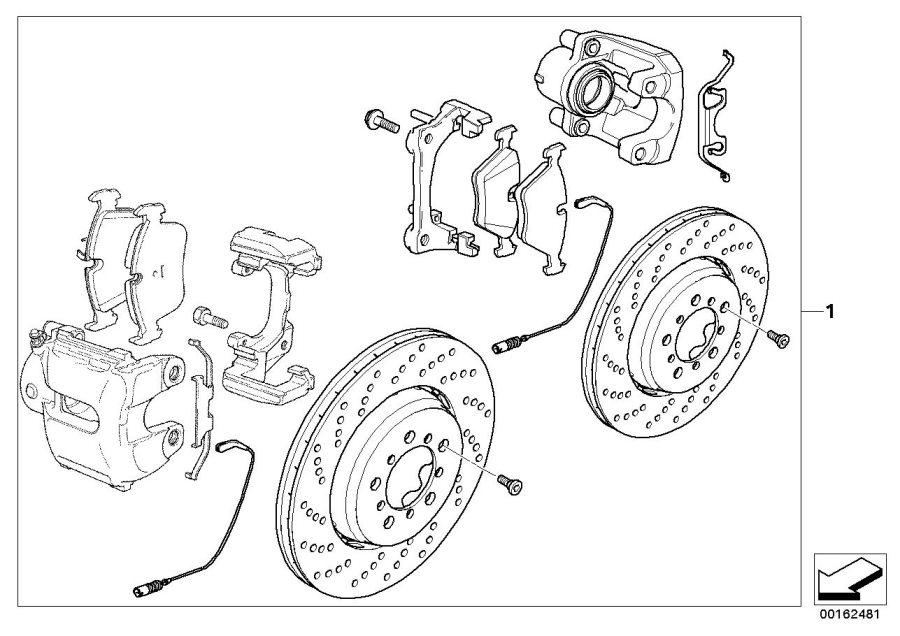 BMW M3 Light alloy rim. 7 1/2JX17 ET:25. Wheels, Wheel