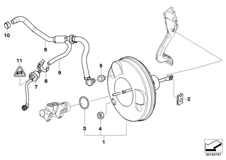 BMW Z4 Sucking jet pump with lines. Brake, Control, Engine