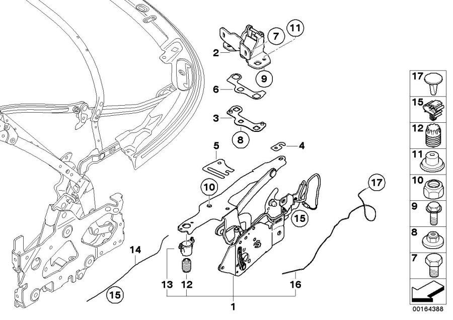 BMW 128i Activation, frame outlet flap. Folding, Top