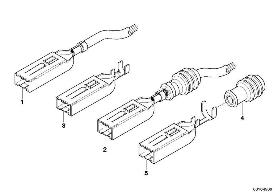 BMW 340iX Jack SLK 2.8 with cable. 0, 25-0, 5 MM². Rex