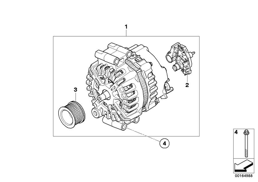 BMW 750iX Exch generator. Valeo 230a. Alpina, alternator