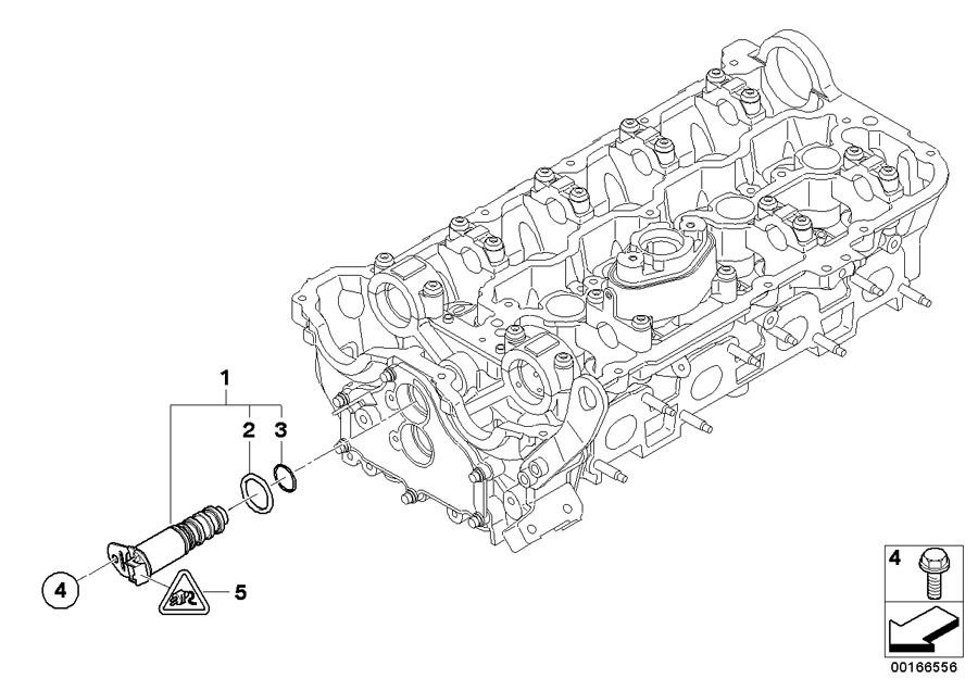 BMW Hybrid 7 O-ring. 20X1, 5. ALPINA, Engine, Head