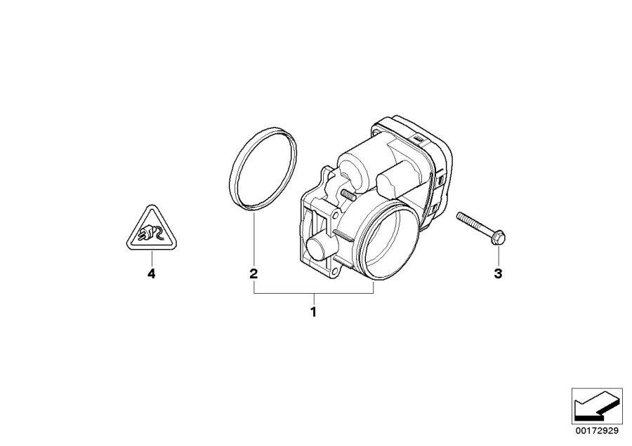BMW 325Ci Profile-gasket. D=79, 5mm. Fuel, system