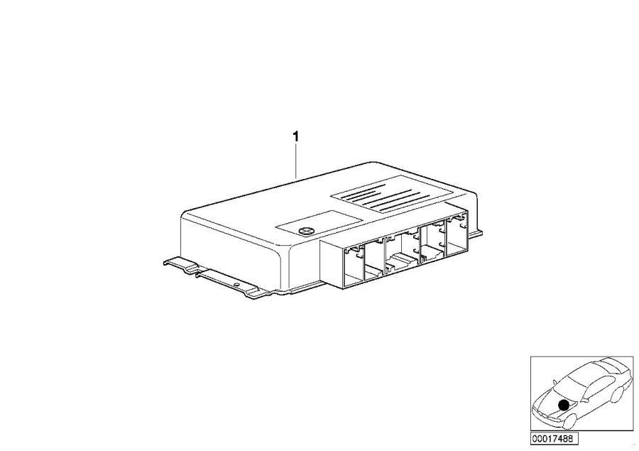 BMW 540i Exch control unit egs programmed. Gs8.60.2