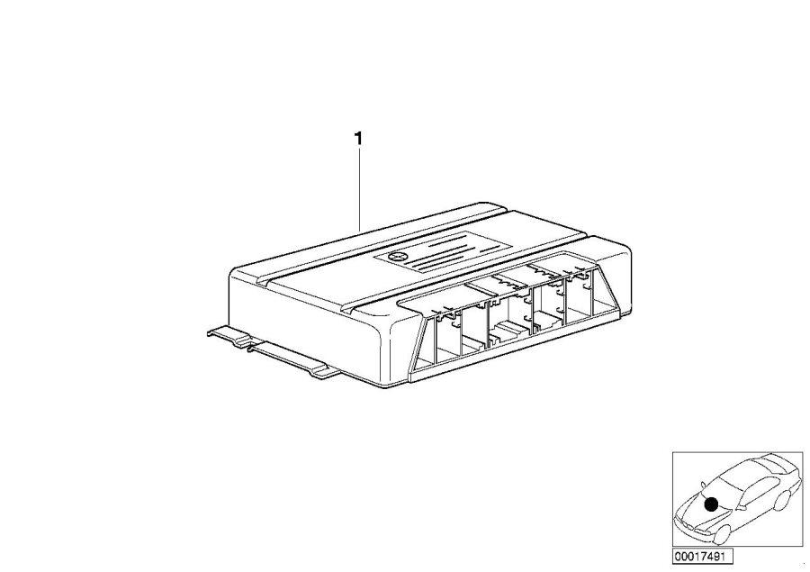BMW 330i Exch control unit egs programmed. Gs20