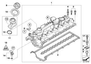 BMW 335d Profilegasket Cylinder, head, engine, cover  11127796378 | BMW Northwest, Taa WA
