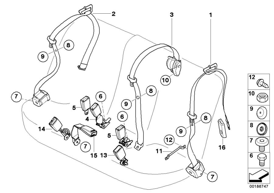 Bmw x5 front suspension diagram