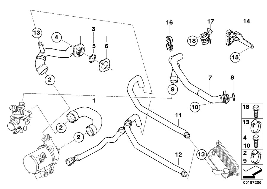 2006 BMW E90 Coolant Wiring Diagram. BMW. Wiring Diagrams