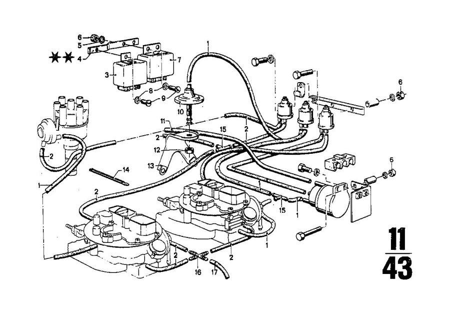 BMW 3.0S Vacumm box. Bavaria, Control, Engine