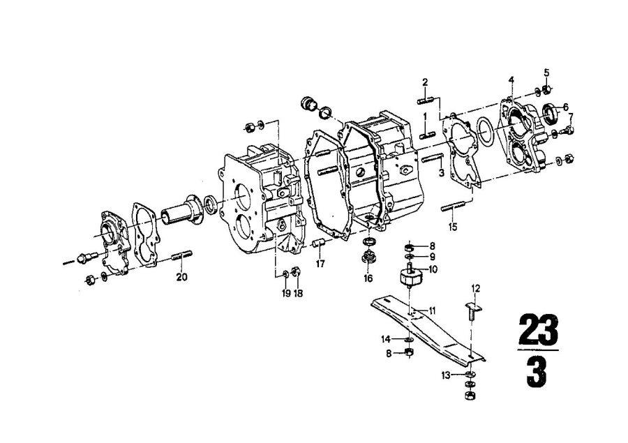 BMW 2500 Shaft seal. 38X52X10. Transmission, Bavaria