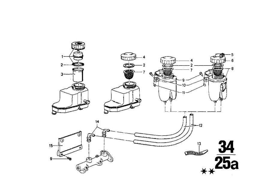 BMW 1602 Strainer tube. Bavaria, brake, expansion