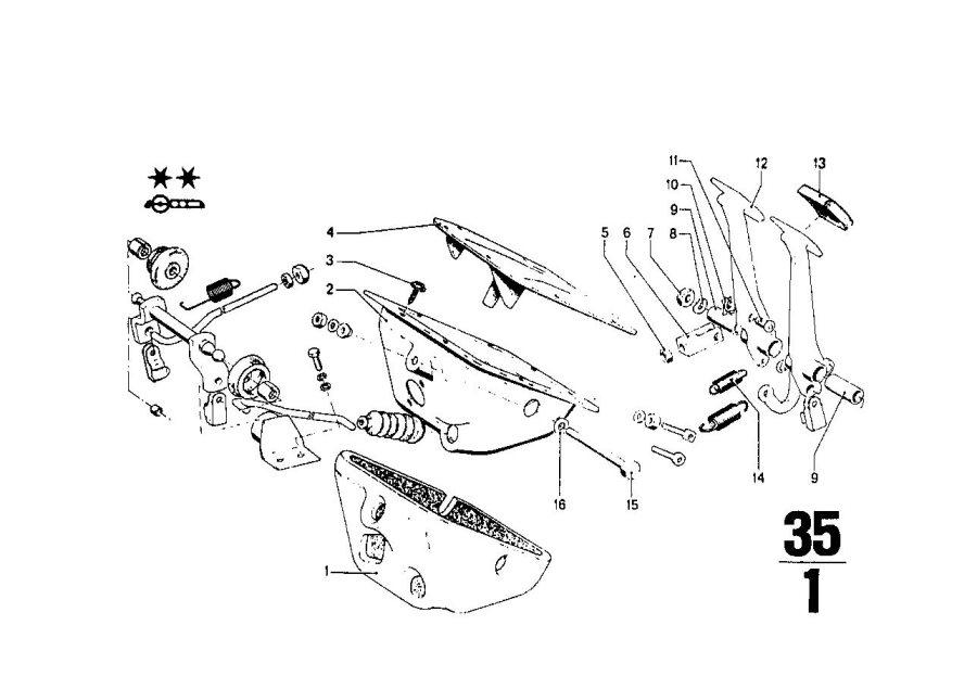 BMW 2002 Supporting bracket. HYDRAULISCH. Pedals