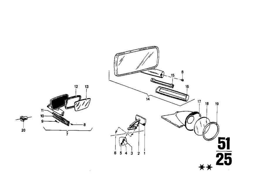 BMW 2000 Seal seft. Trapez. Interior, equipment, body