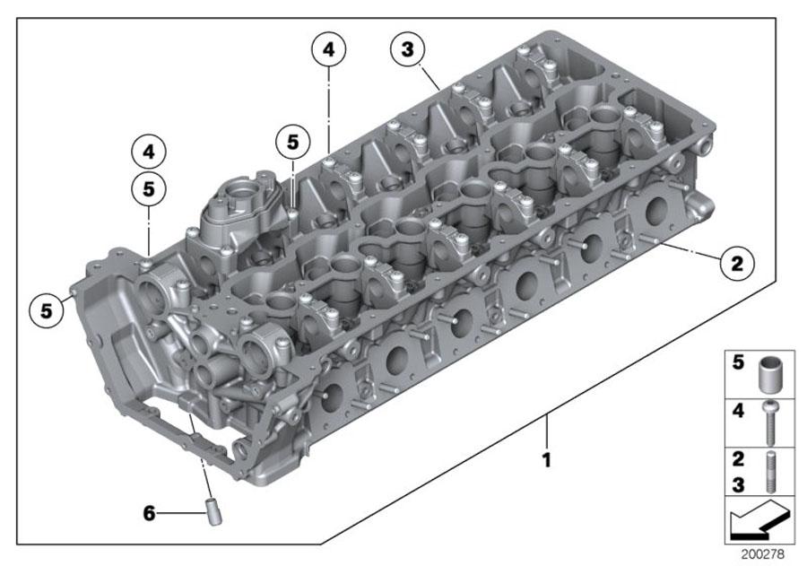 BMW 760Li Dowel. D=8, 3MM. ALPINA, Engine, Rid