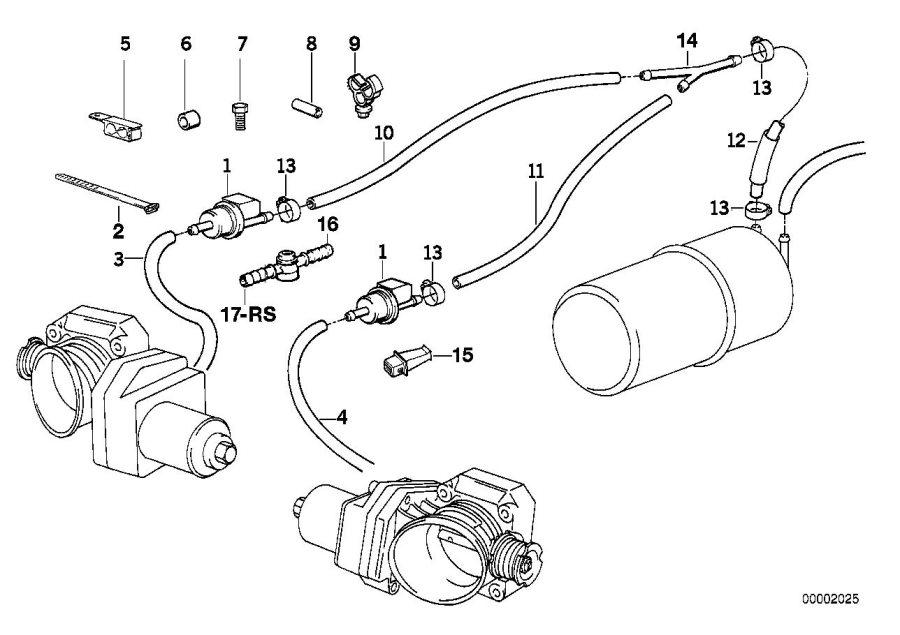 BMW 850Ci Resistor. 1000ohm/bosch. Fuel, yes, system