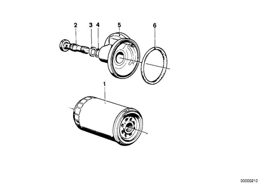 BMW 325ix O-ring. 20, 0X3. Lubrication, System