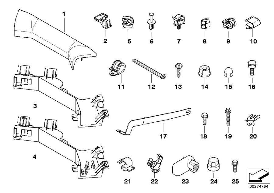 BMW X5 Collar screw. M6 X 16. Engine, Vacuum, System