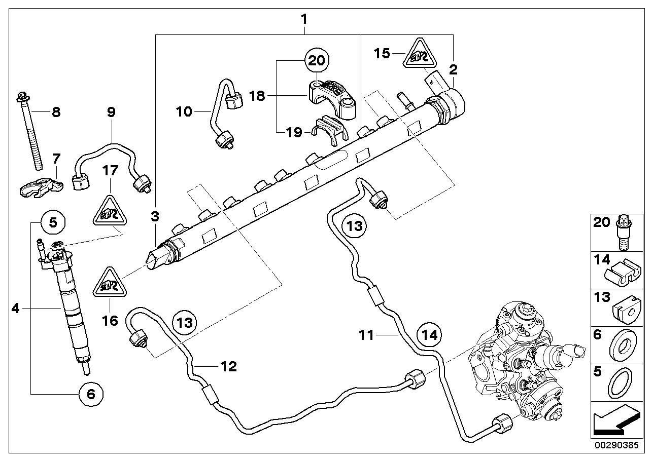 Bmw X5 Gasket Ring Fuel System