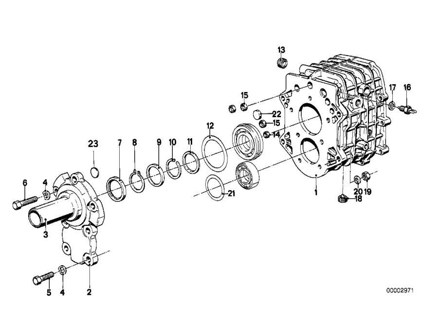 BMW 528e Snap ring. 35x2, 00. Getrag, wheel, gear