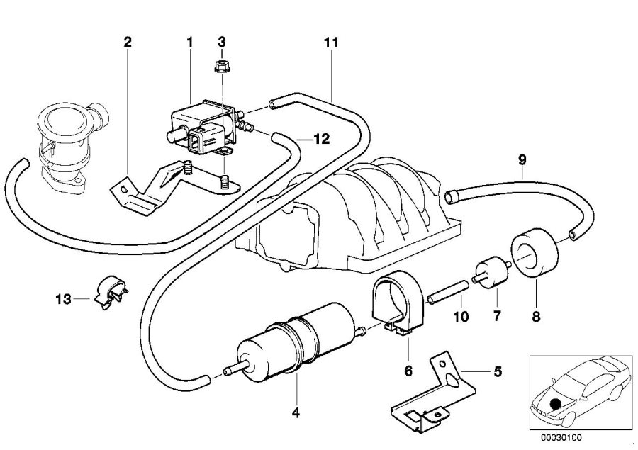 1995 Bmw 740i Vacuum Diagram. Bmw. Auto Wiring Diagram
