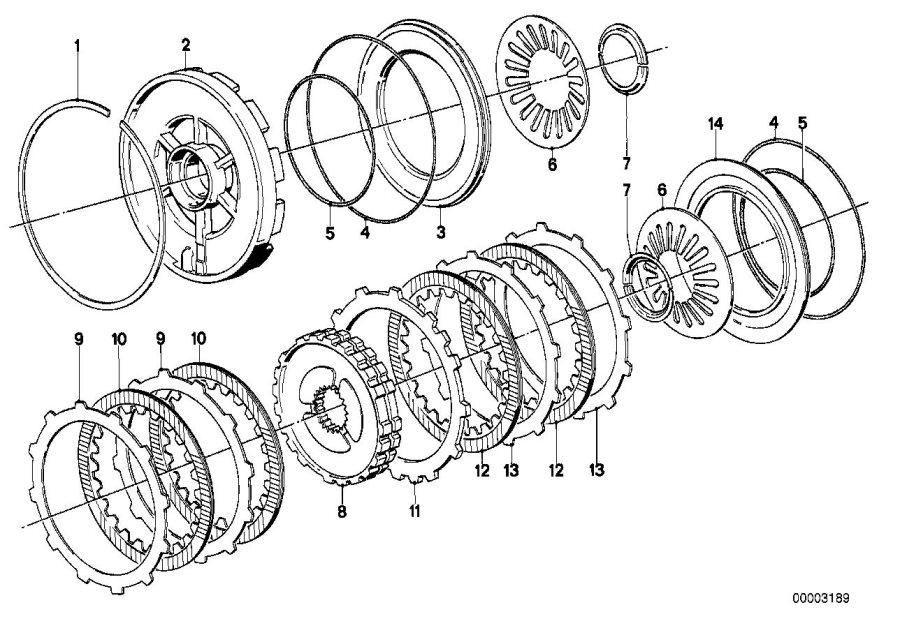 BMW 528e Freewheel 2nd gear. Clutch, brake, transmission
