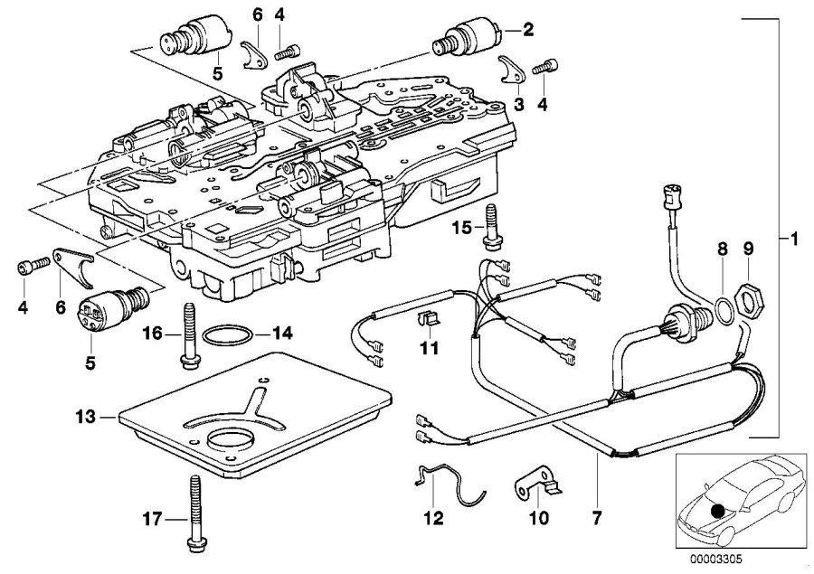 BMW 535i Pressure regulator. Control, applies